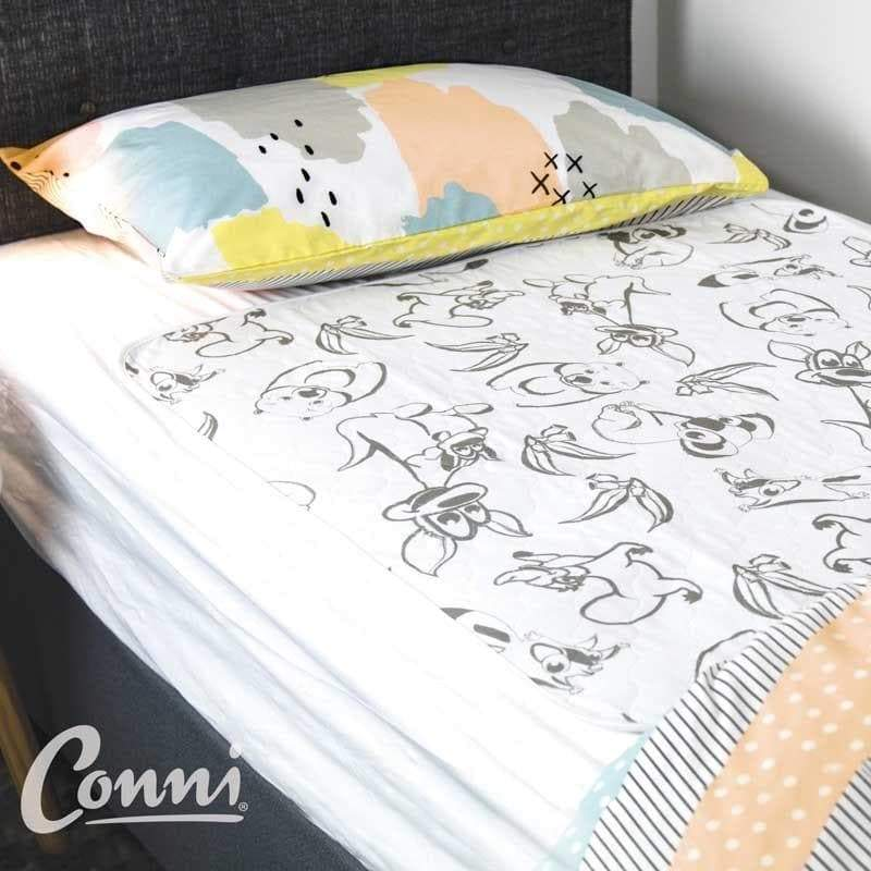 CONNI KIDs Bed Pad Sheet 76 x 90cm Waterproof 263165 by Conni