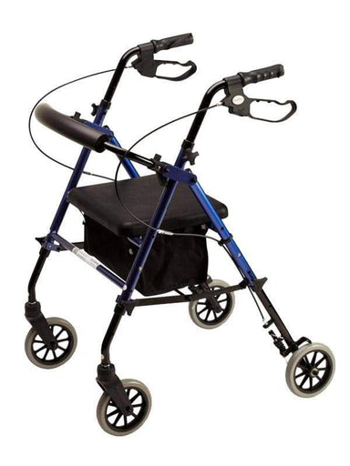 Alpha 426 Rollator Blue 57012 by Quintro Health Care