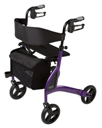 ALPHA 438 ROLLATOR Lilac 57039 by Quintro Health Care