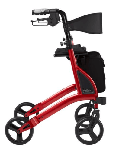 ALPHA 438 ROLLATOR Red 57037 by Quintro Health Care