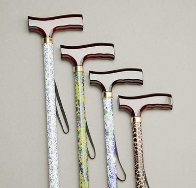 Care Quip - Walking Stick - Patterned Stem 580C by Care Quip