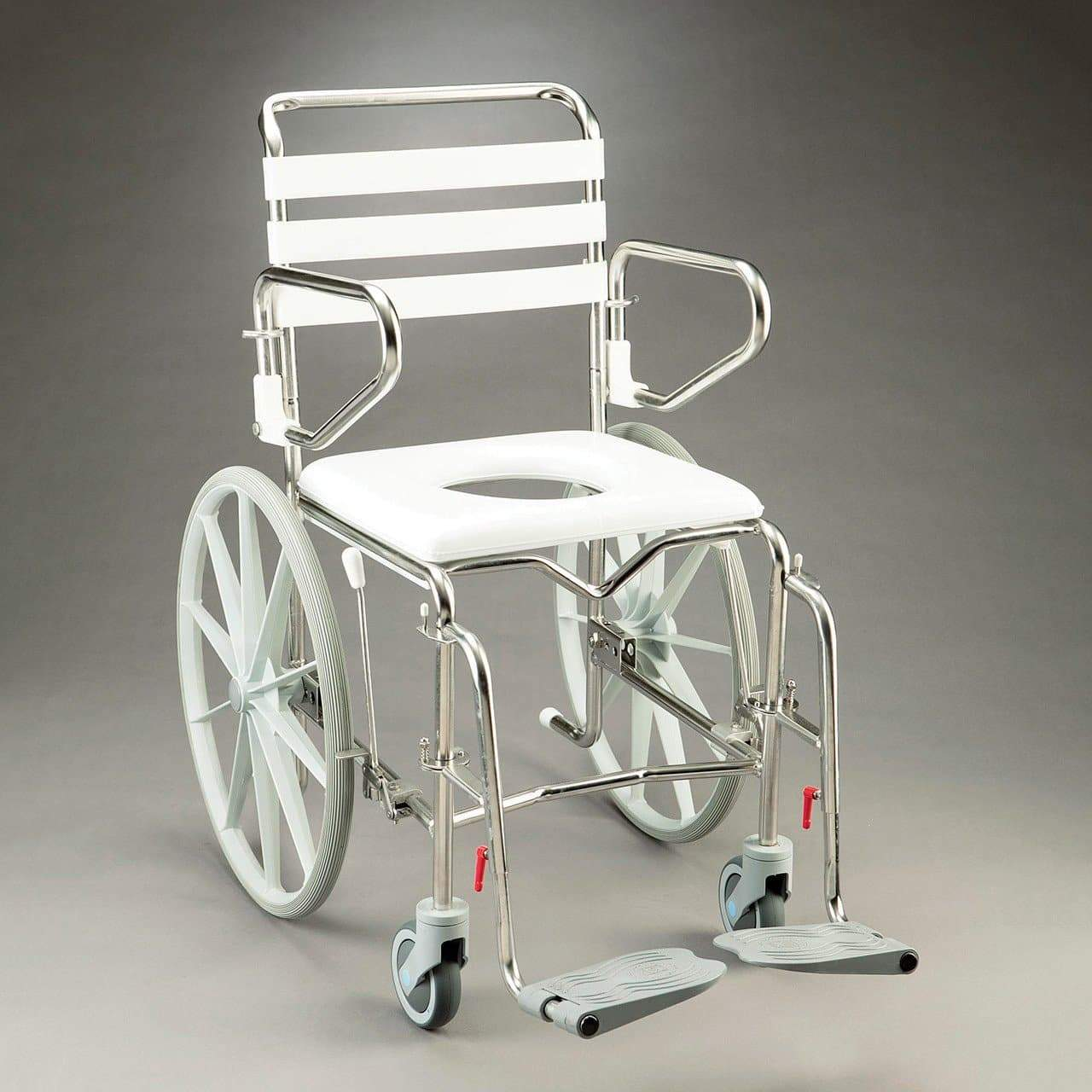Care Quip - Mobile Shower Commode - Self Propelled by Care Quip
