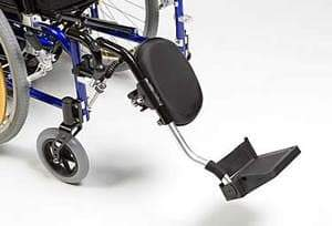 Aluminium Elevating Footrests for Drive XS2 & SD2 Wheelchair by Drive