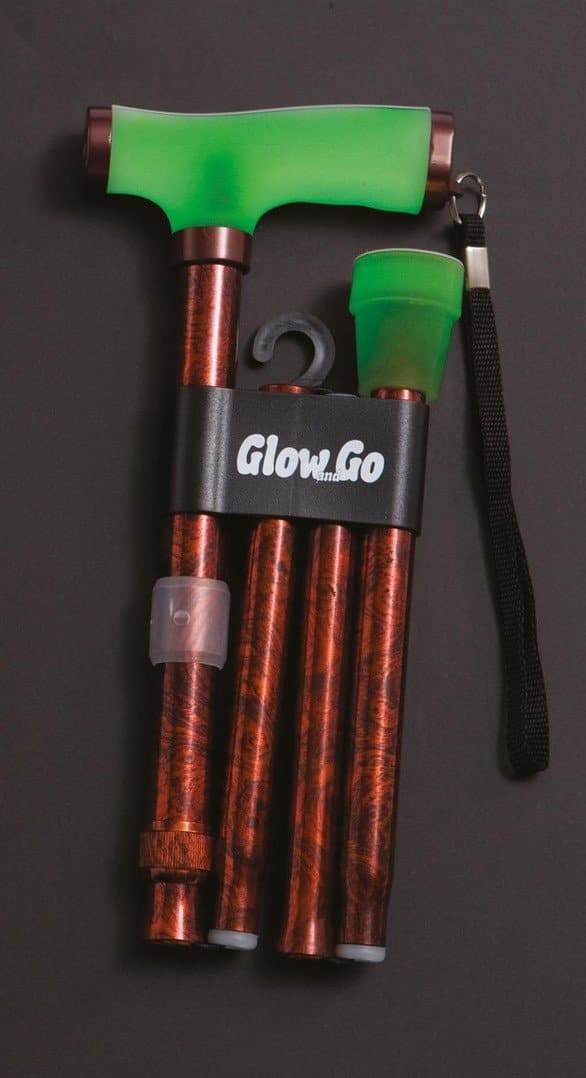 Drive - Go & Glow Walking Stick Copper RTL10304CRAU by Drive