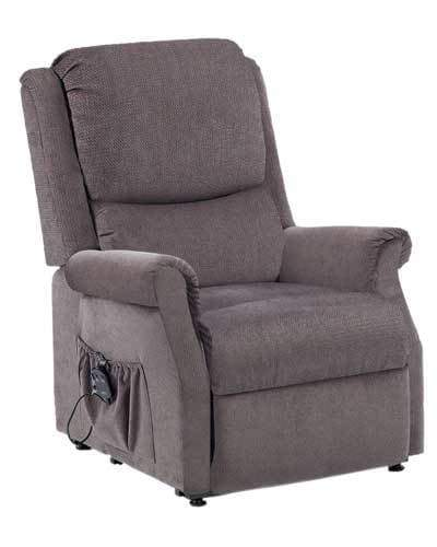 Indiana Single Motor Recliner (150kg) Standard / GRAPHITE GREY CLR19YGGAU by Drive