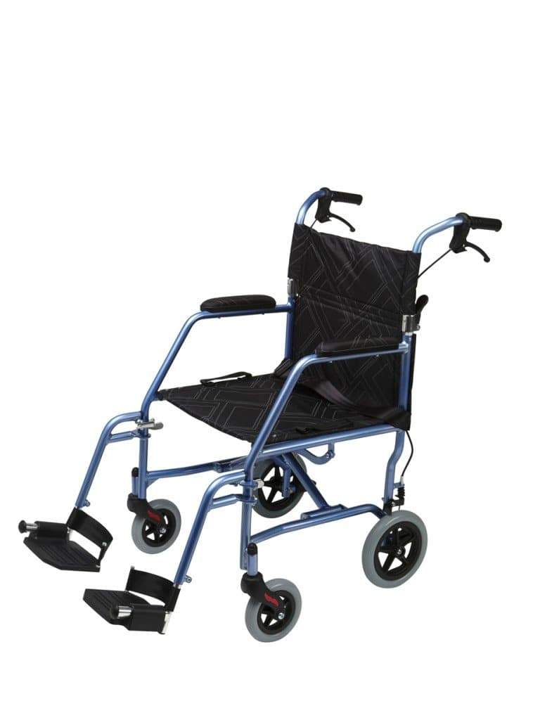 Omega LA1 Wheelchair Blue 61002 by Quintro Health Care
