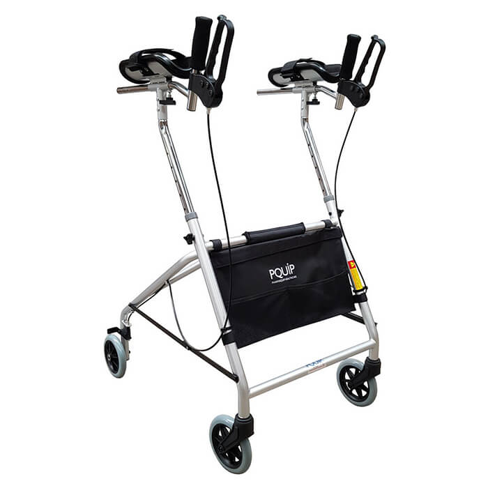 PQUIP Deluxe Gutter Arm Walker - Junior