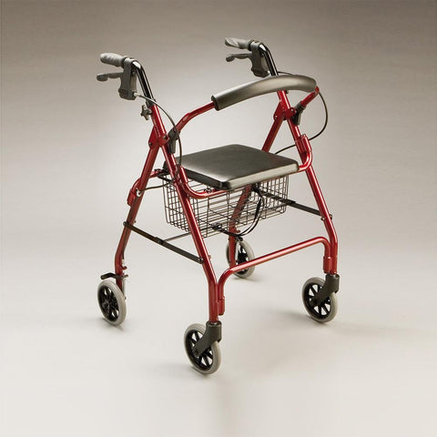 Care Quip - Adventurer Walker / Rollator 2967, Breeze Mobility