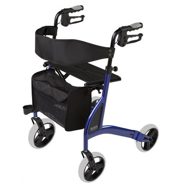 ALPHA 438 ROLLATOR blue