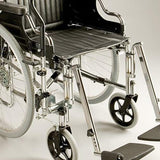 Care Quip - AR Poirier Lever Drive Wheelchair, Breeze Mobility