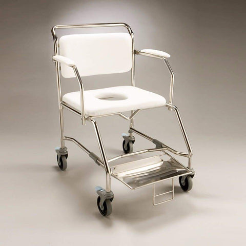 Care Quip - Mobile Shower Commode B1020SW