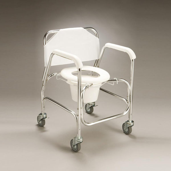 Care Quip - Mobile Shower Commode - Economy B1024, Breeze Mobility