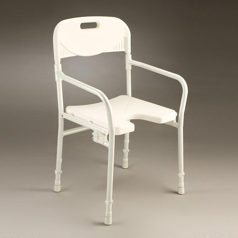 Care Quip - Shower Chair - Folding B1175, Breeze Mobility