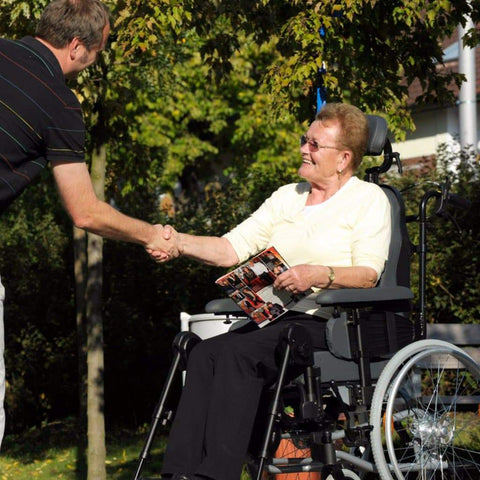 Care Quip Breezy Relax Wheelchair 308 Breeze Mobility