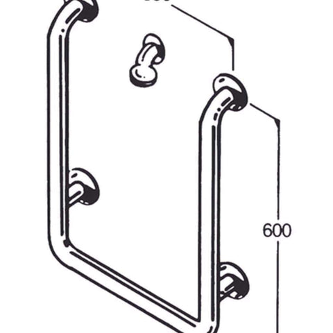 Care Quip - Bath/Shower Rail 016