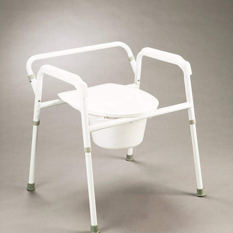 Care Quip - Bedside Commode - 2 in 1 B4019