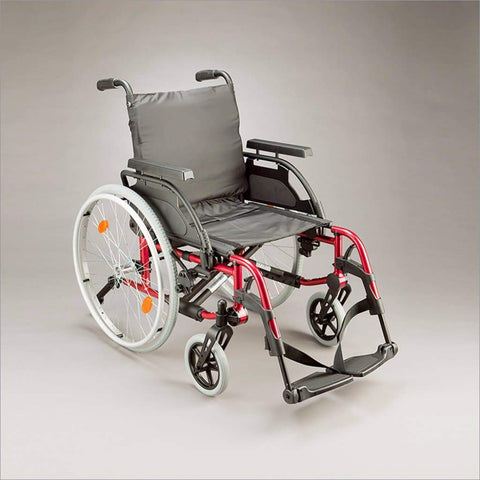 Care Quip - Breezy Basix Wheelchair 817