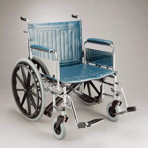 Care Quip - Heavy Duty Wheelchair 605