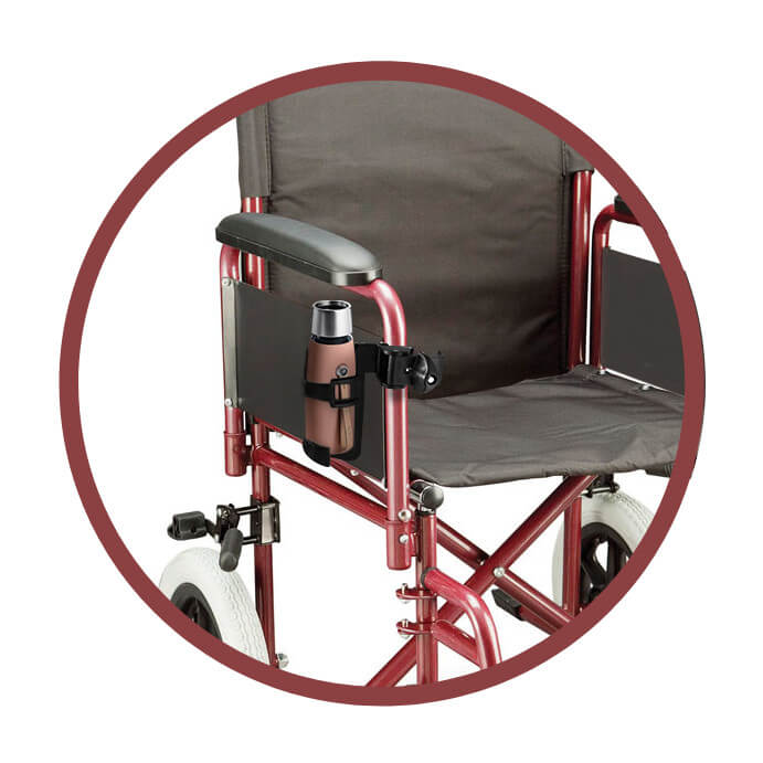Cup Holder For Wheelchairs, Walkers & Scooters