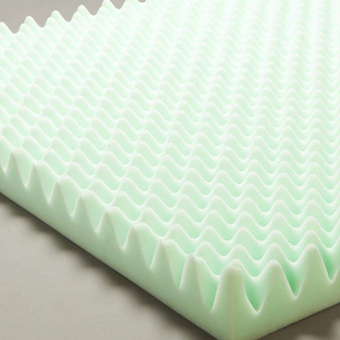 Care Quip - Bed Convoluted Foam Overlay -Single/Double/Queen