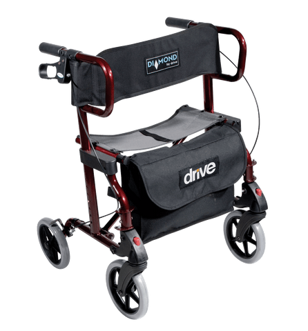 Drive - Diamond Deluxe Walker / Rollator, Breeze Mobility