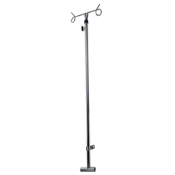 Care Quip - IV Pole for Wheelchair, Breeze Mobility
