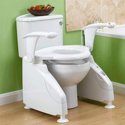 Solo Electric Toilet Lift with Operating Switch, Breeze Mobility