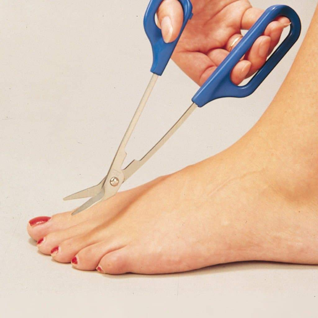 Care Quip - Easygrip Chiropodist Scissors CD0210 by Care Quip