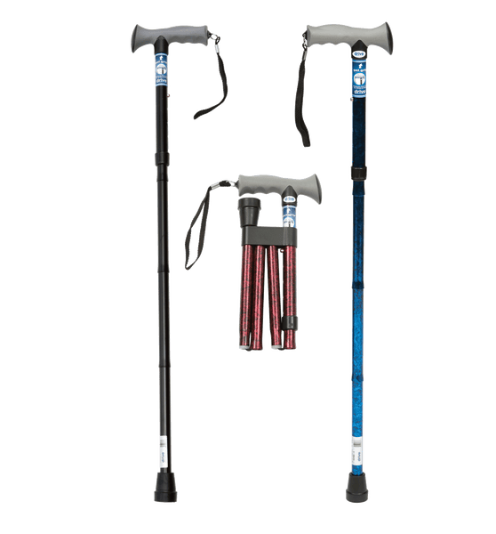 Drive - Folding Walking Stick, Breeze Mobility