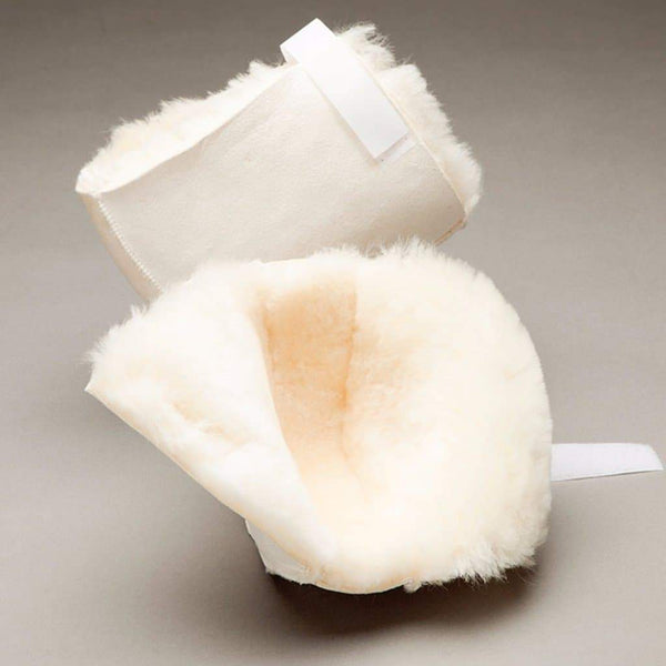 Care Quip - Heel Protector - Sheepskin 3074, Breeze Mobility