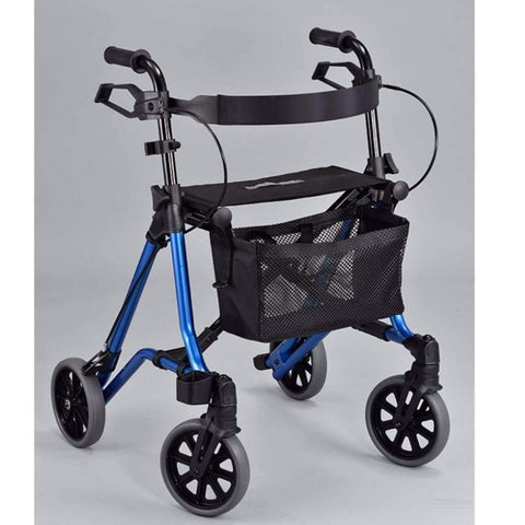 Care Quip - Side Fold Walker / Rollator HF0470, Breeze Mobility