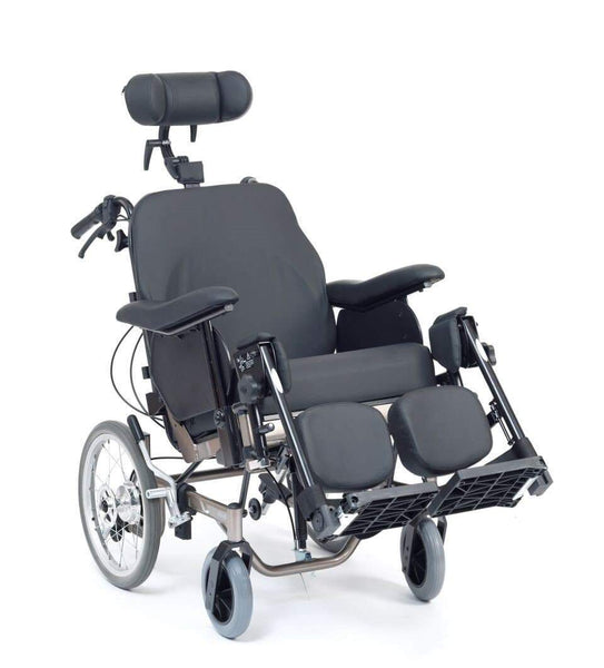 IDSOFT Tilt-Recline Wheelchair -Mid-sized wheels, Breeze Mobility
