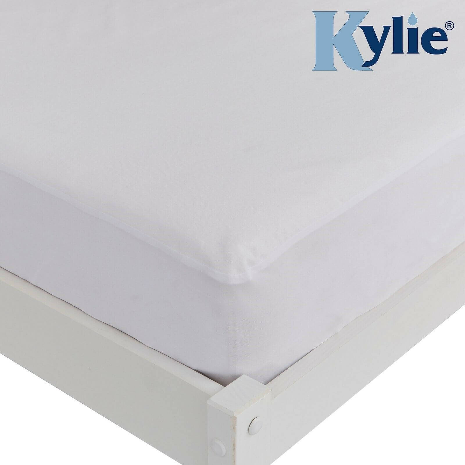 Kylie - Bed Fitted Mattress Protector  - Single/Double/Queen