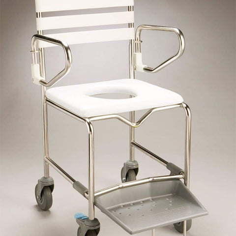Care Quip - Mobile Shower Commode B1020S, Breeze Mobility