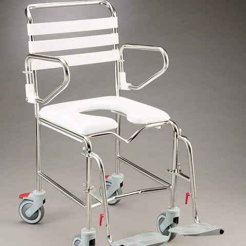 Care Quip - Mobile Shower Commode B1026S, Breeze Mobility