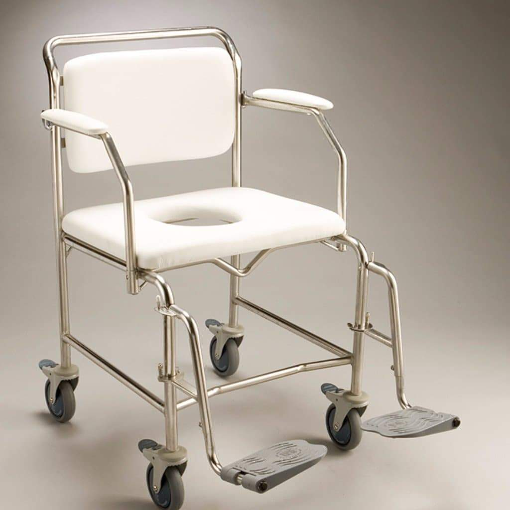 Care Quip - Mobile Shower Commode by Care Quip