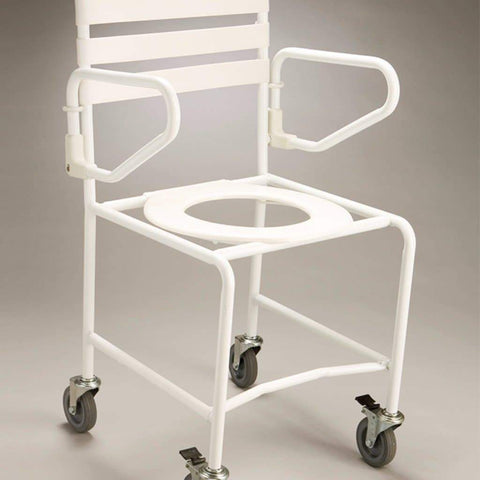 Care Quip - Mobile Shower Commode - Economy B1023, Breeze Mobility