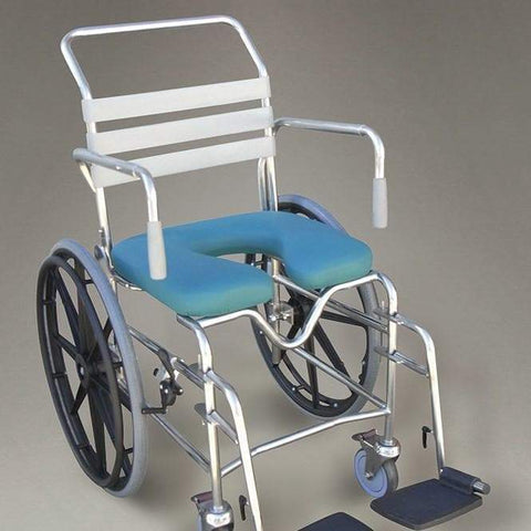 Care Quip - Mobile Shower Commode - Self Propelled B4025S, Breeze Mobility