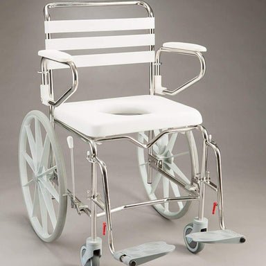 Care Quip - Mobile Shower Commode - Self Propelled Wide AE0690 by Care Quip