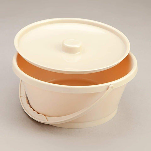 Care Quip - Commode Bowl - Beige B102B