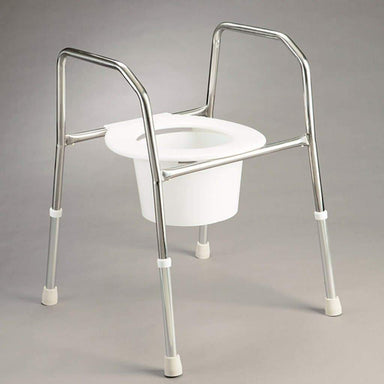 Care Quip - Overtoilet Aid - Stainless Steel AJ0090 by Care Quip