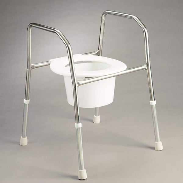 Care Quip - Overtoilet Aid - Stainless Steel B4014S, Breeze Mobility