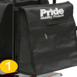 Pride - Scooter Bag complete with Crutch Stick Holder