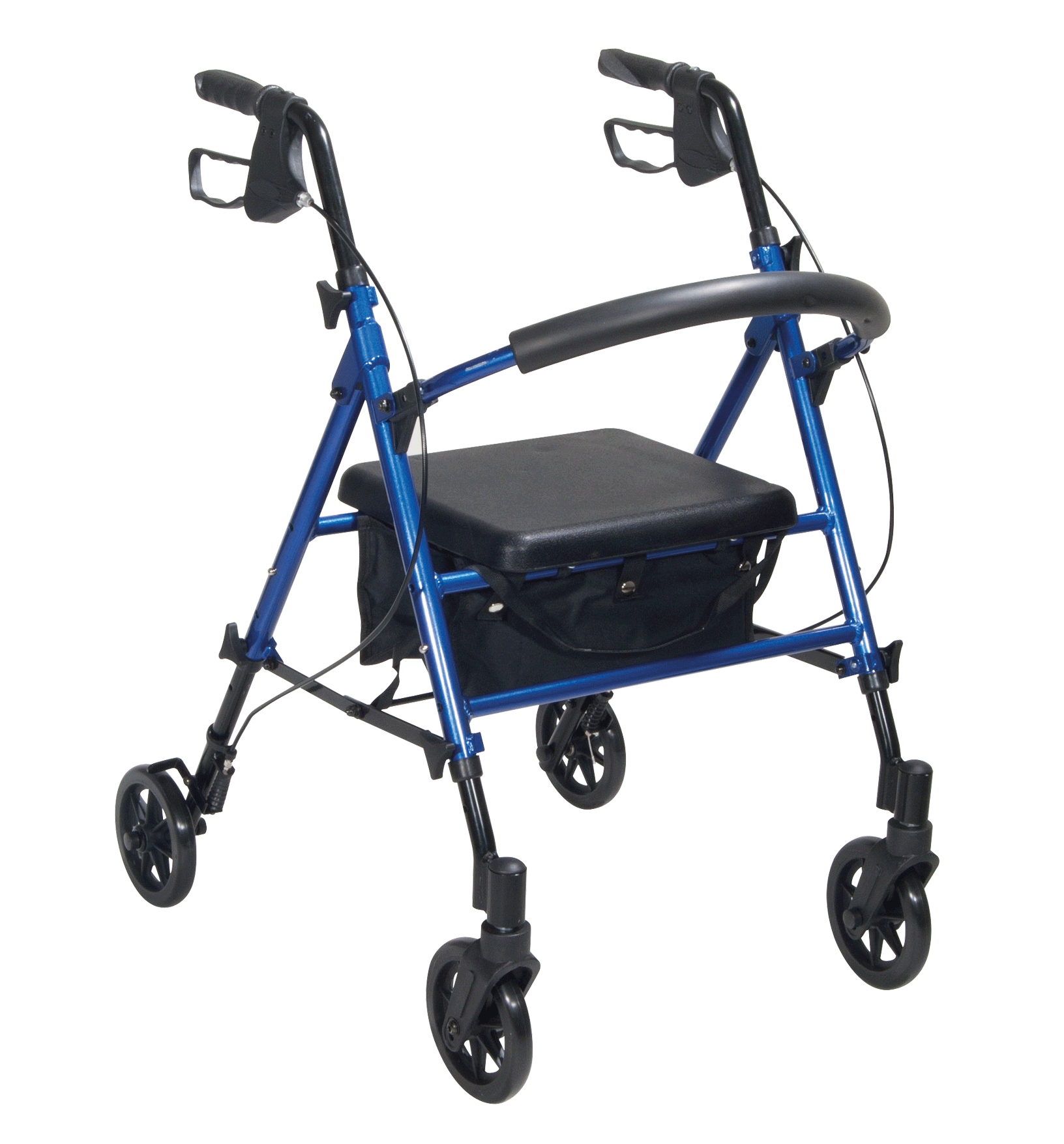 Drive - Adjustable Seat Height Walker / Rollator Vivid Blue R8BLHAAU by Drive