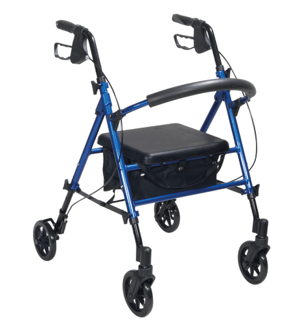 Drive - Adjustable Seat Height Walker / Rollator