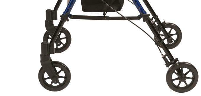 Drive - Adjustable Seat Height Walker / Rollator by Drive