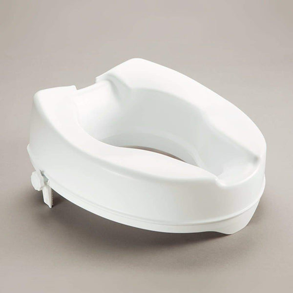 Care Quip - Prima Raised Toilet Seat, Breeze Mobility