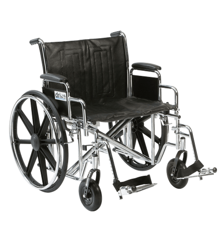 Drive - Sentra EC Bariatric 'Heavy Duty' Wheelchair (318kg), Breeze Mobility