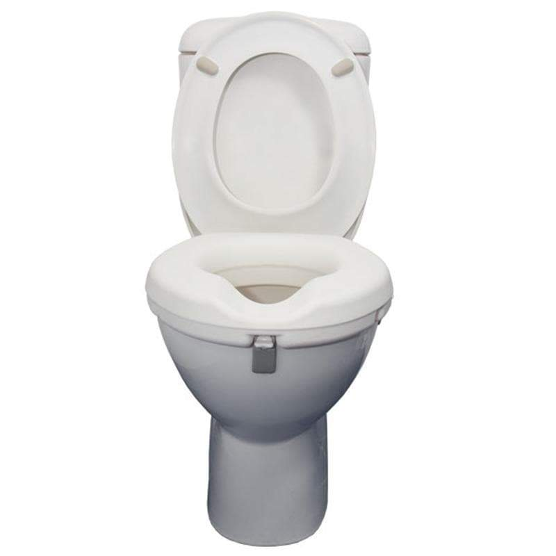Raised Toilet Seat 10cm SMBF1220B by SAFETY & MOB
