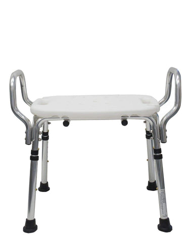 Heavy Duty Shower Chair/Stool SMBF4371B by SAFETY & MOB